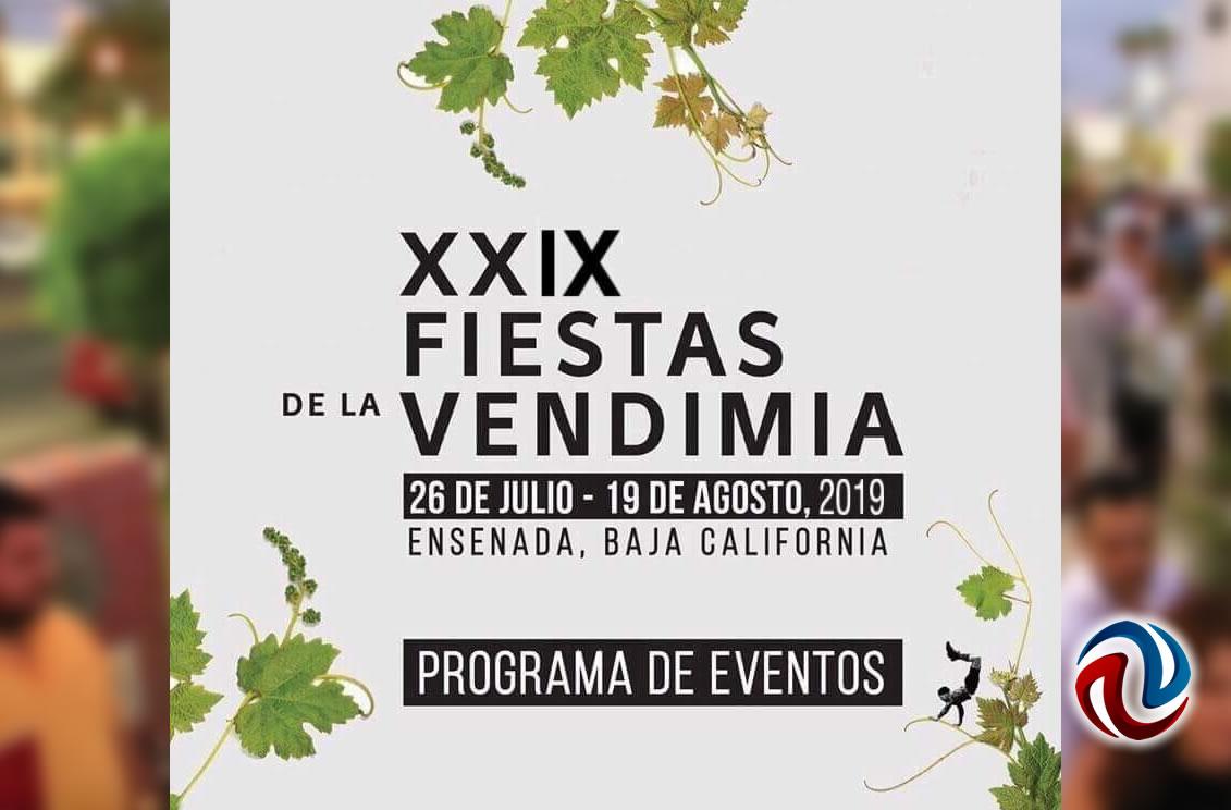 Programa de las Fiestas de la vendimia en Ensenada 2019