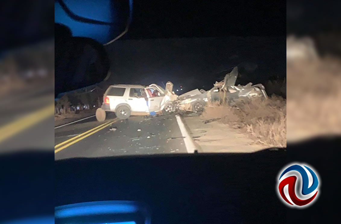 Mueren seis jóvenes en accidente carretero en San Quintín