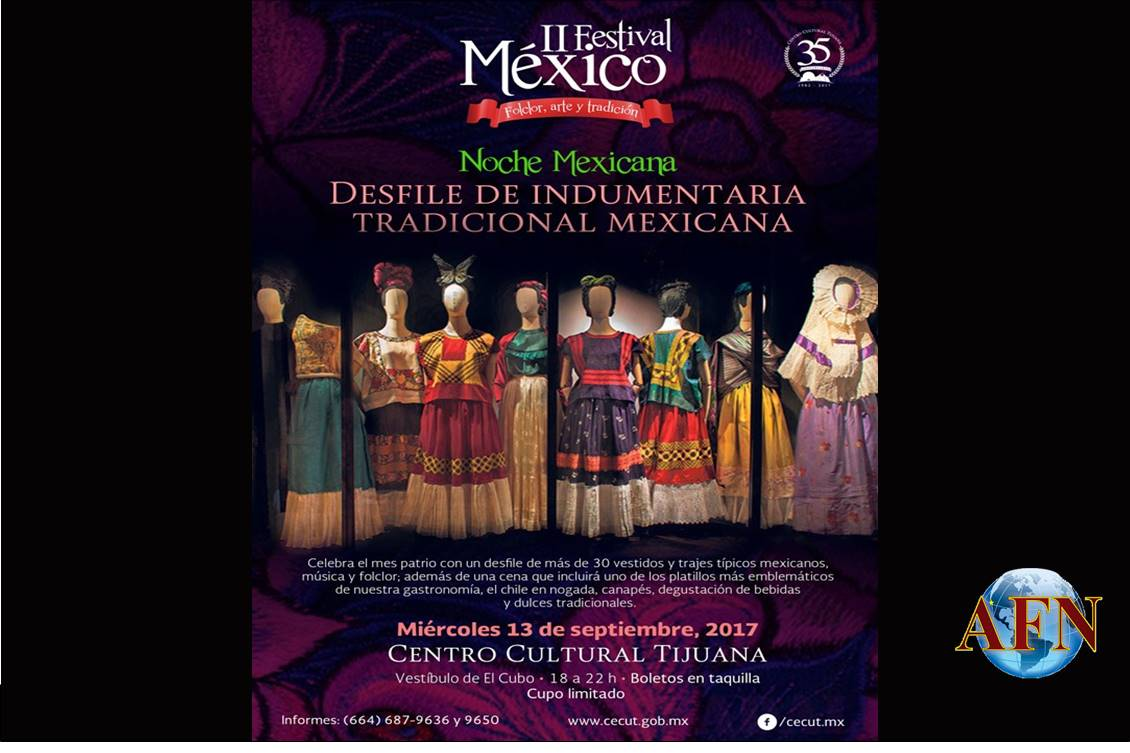 Harán desfile por Noche Mexicana