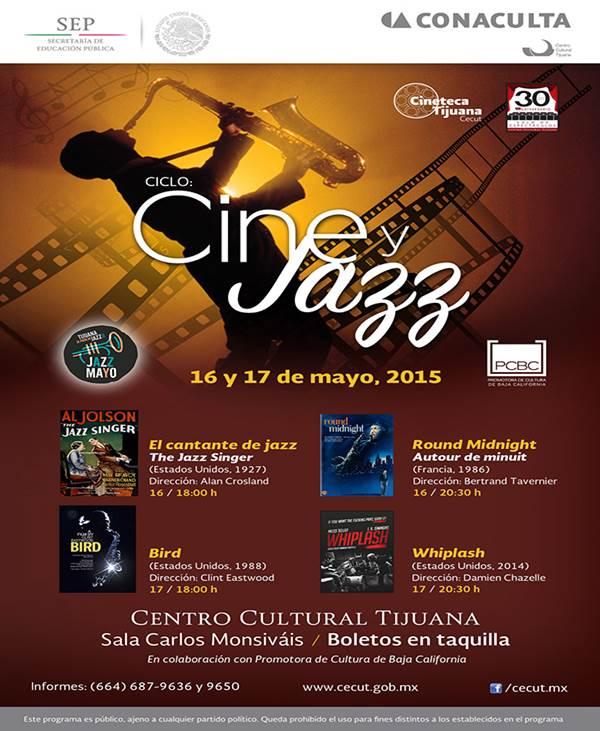 Ofrecerá  Cecut  Ciclo Cine y Jazz