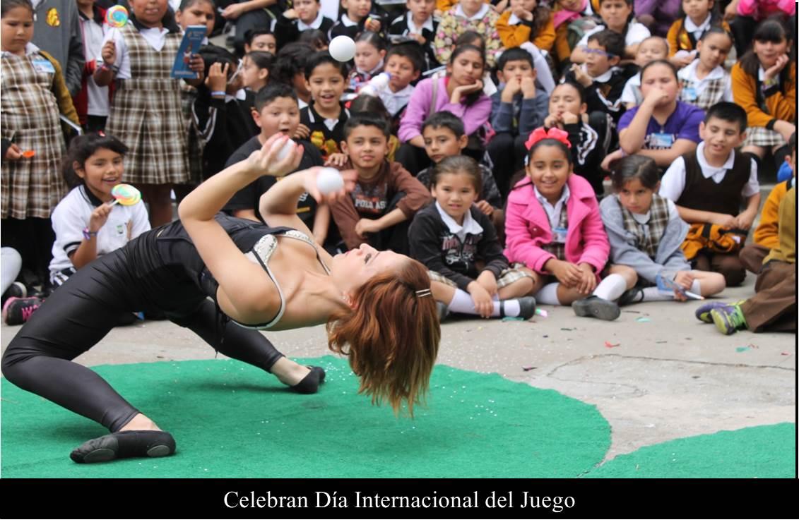 Celebran Día Internacional del Juego