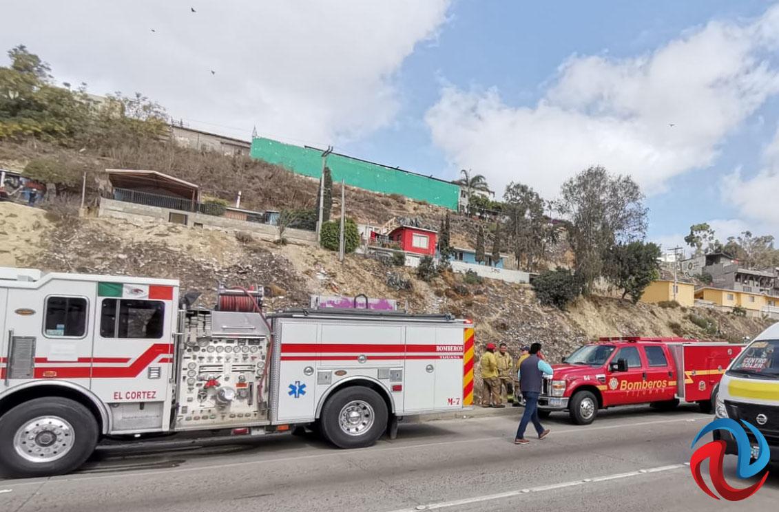 Fallecieron dos personas en volcadura en el Rosas Magallón