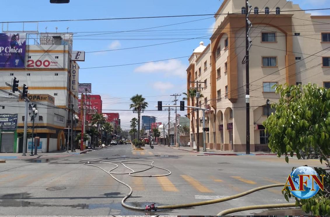 Fuerte explosión en hotel de la zona norte