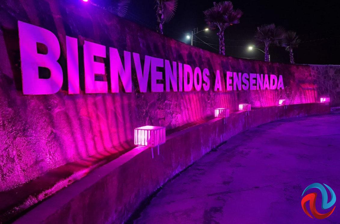 Iluminarán de rosa Ensenada en apoyo a la lucha contra el cáncer