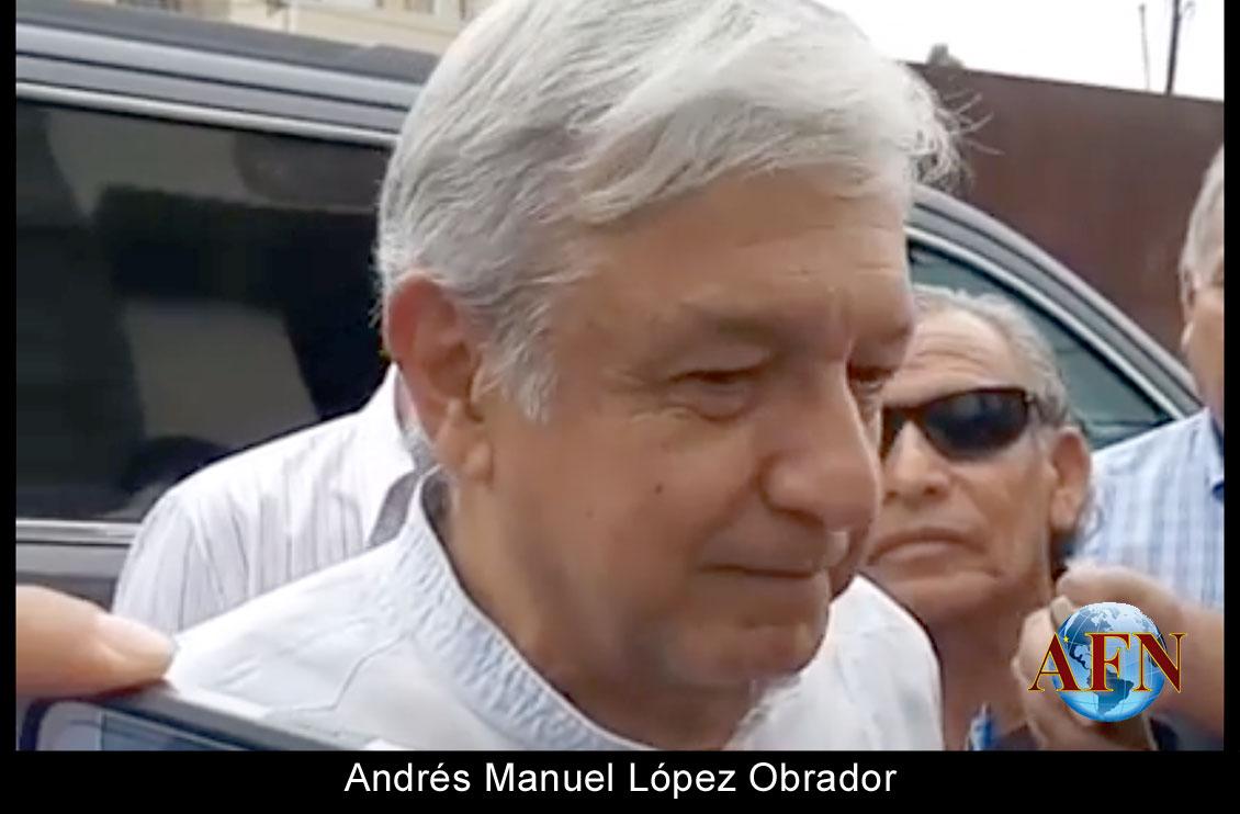 Resultado de imagen para López Obrador AFN