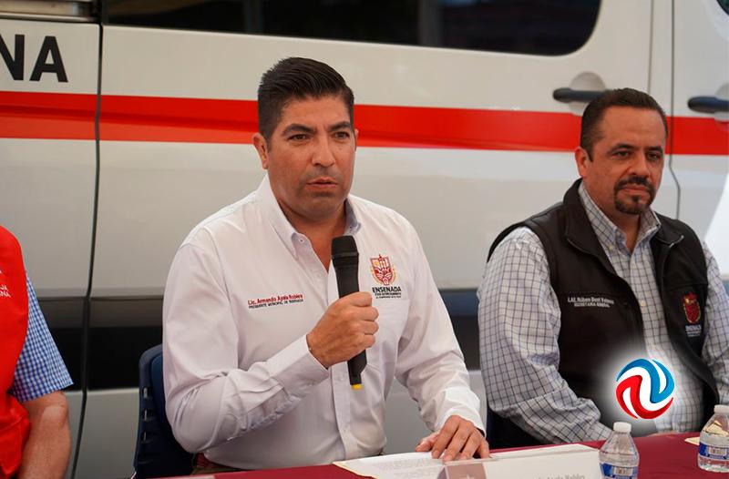 Entregan por aportaciones casi 500 mil pesos a la Cruz Roja de Ensenada