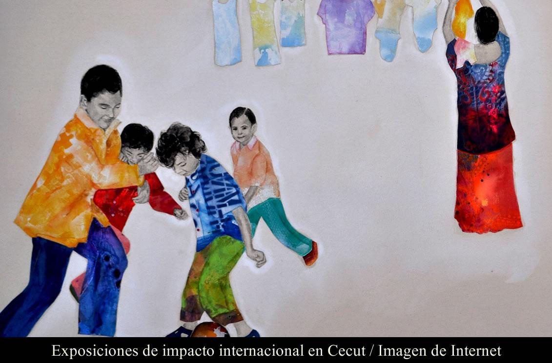 Exposiciones de impacto internacional en Cecut