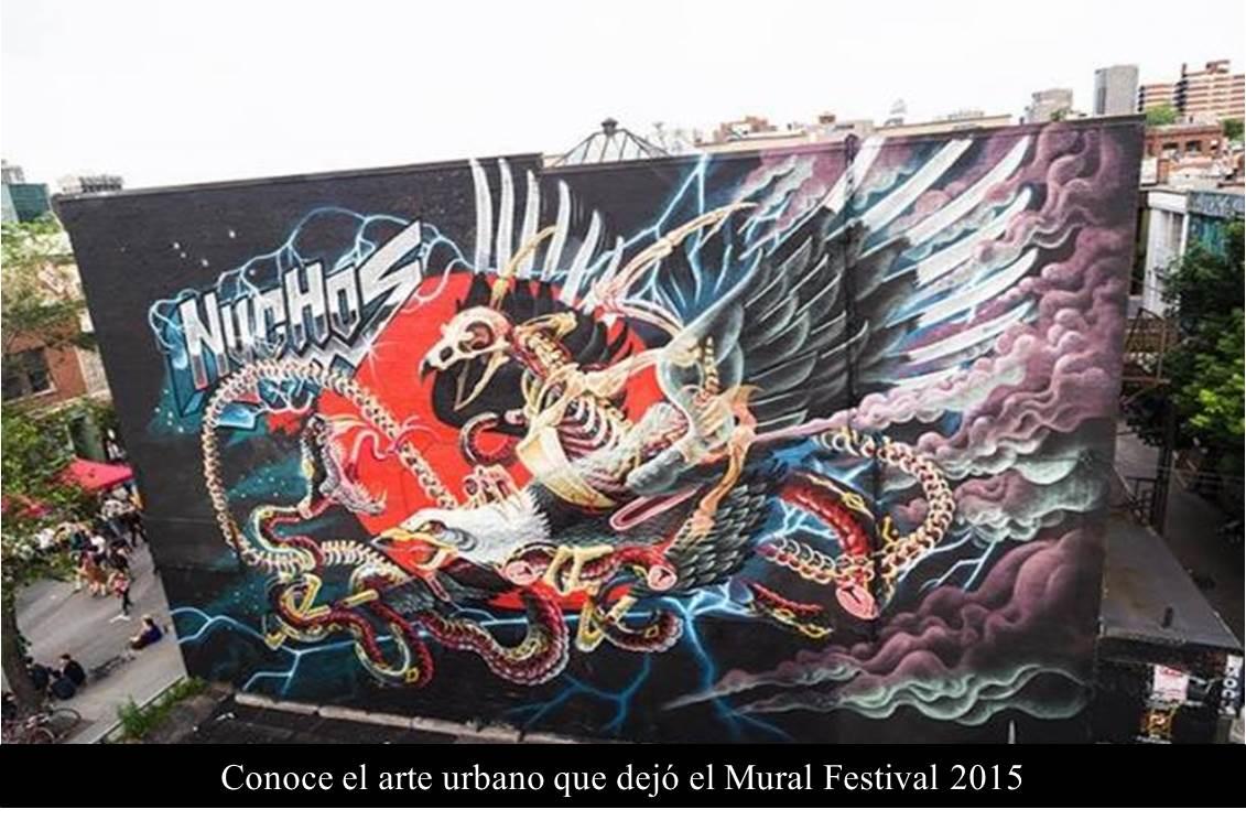 Conoce el arte urbano que dejó el Mural Festival 2015