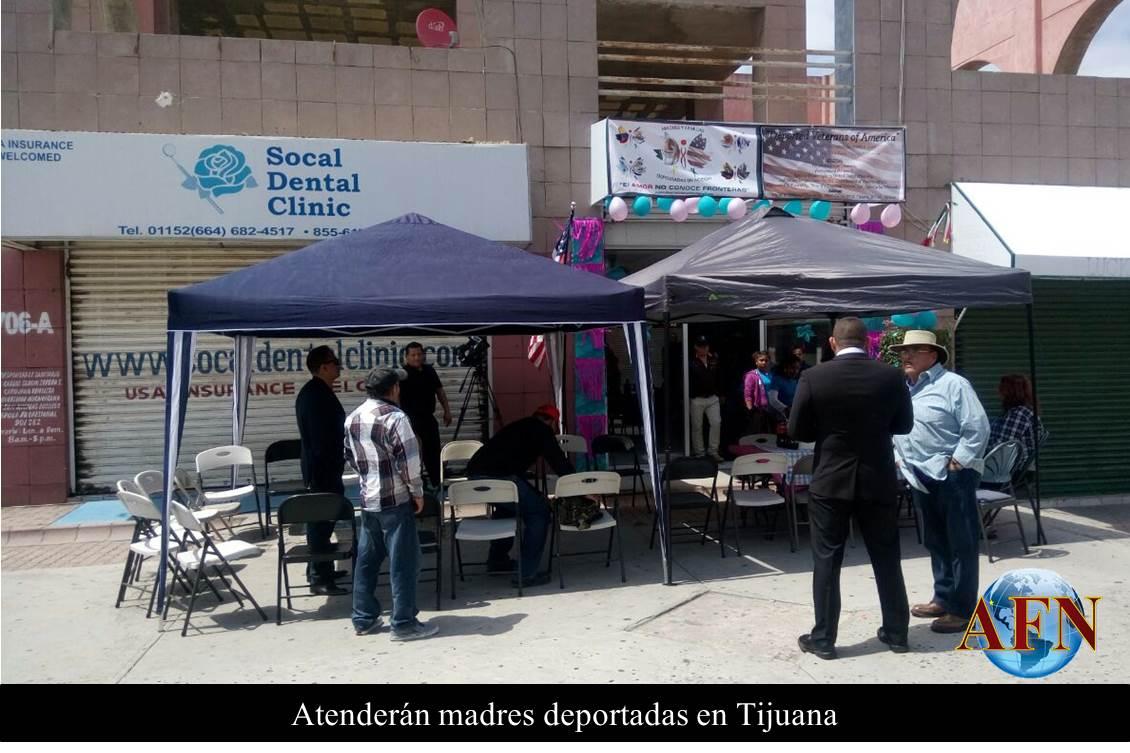 Atenderán a madres deportadas en Tijuana