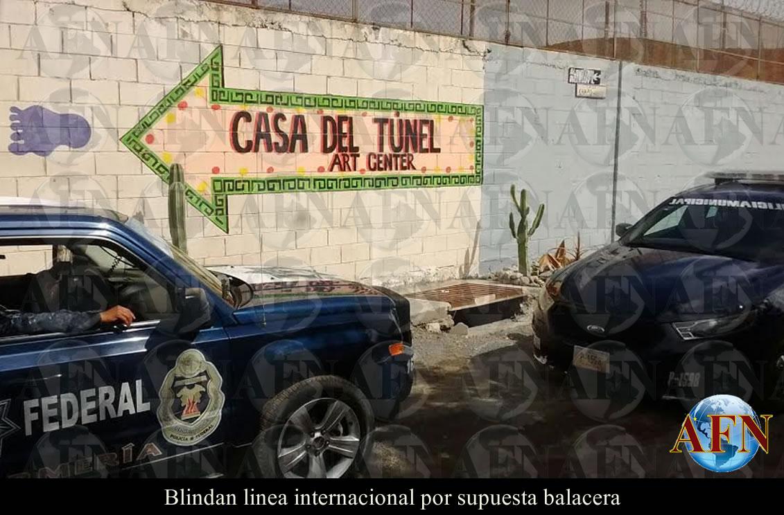 Blindan Garita Tijuana-San Ysidro por disparos