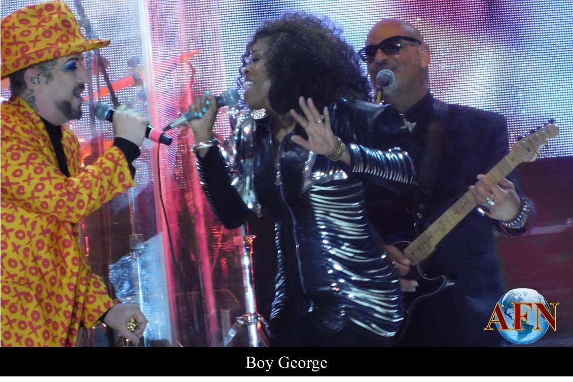 Boy George se presentó en Ensenada
