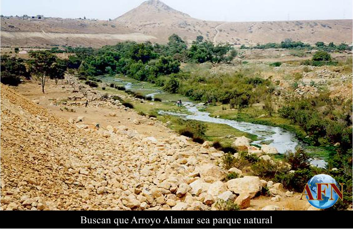 Buscan que Arroyo Alamar sea parque natural