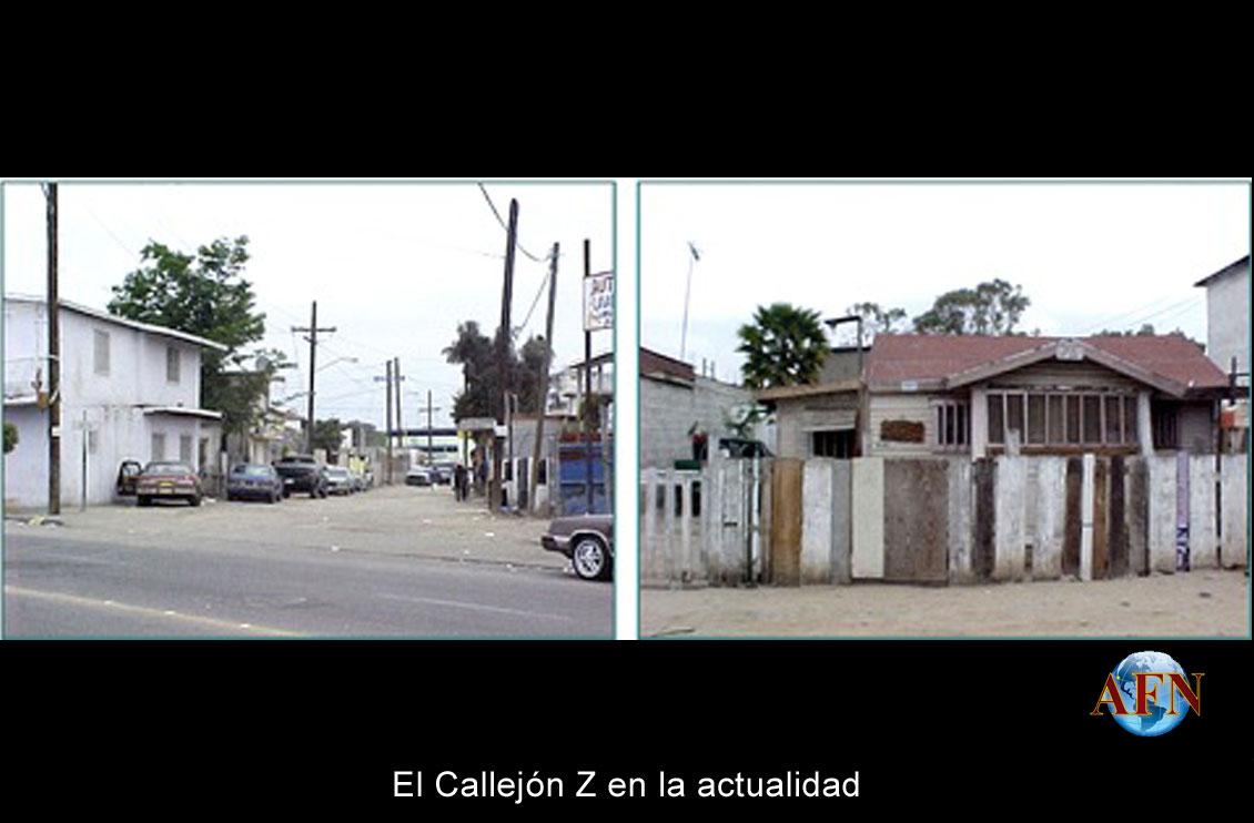 La calle más antigua de Tijuana