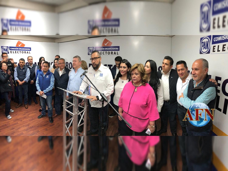 Seis mil 500 panistas eligieron candidatos