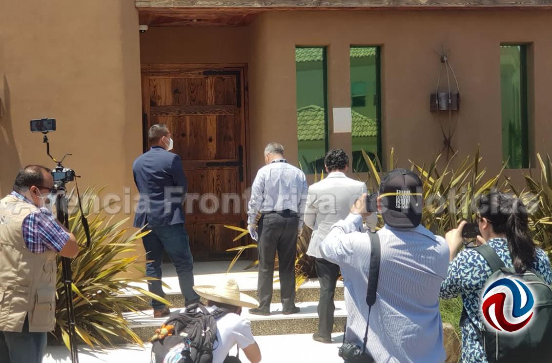 Cateo en la casa de Kiko Vega por caso Brenda
