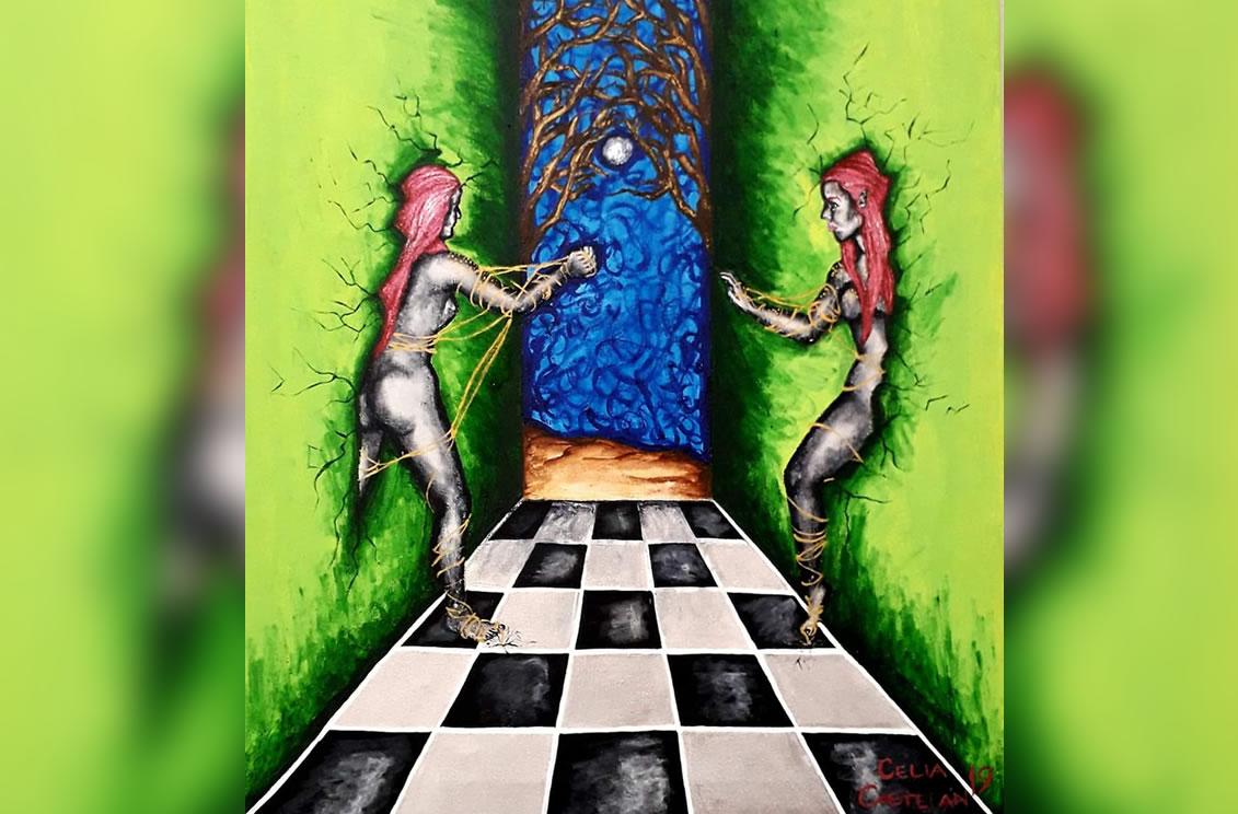 Mis células, fuente  de poder en el arte