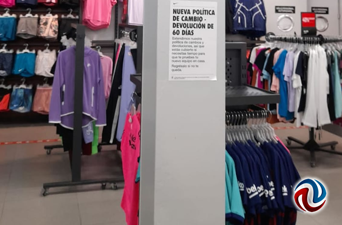 Clausuran tienda Nike de La Mesa