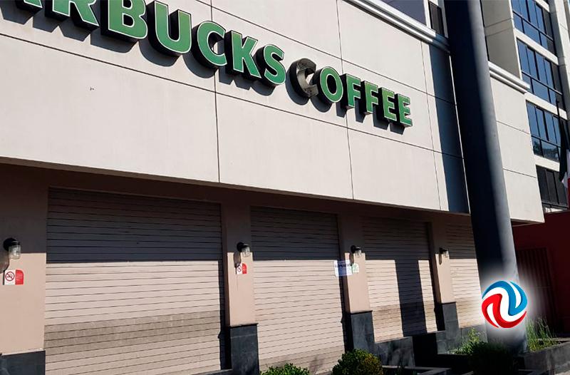 Clausuró COEPRIS tres sucursales de Starbucks