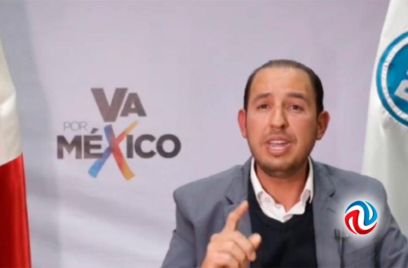 Anuncian coalición Va por México, PRI, PAN y PRD