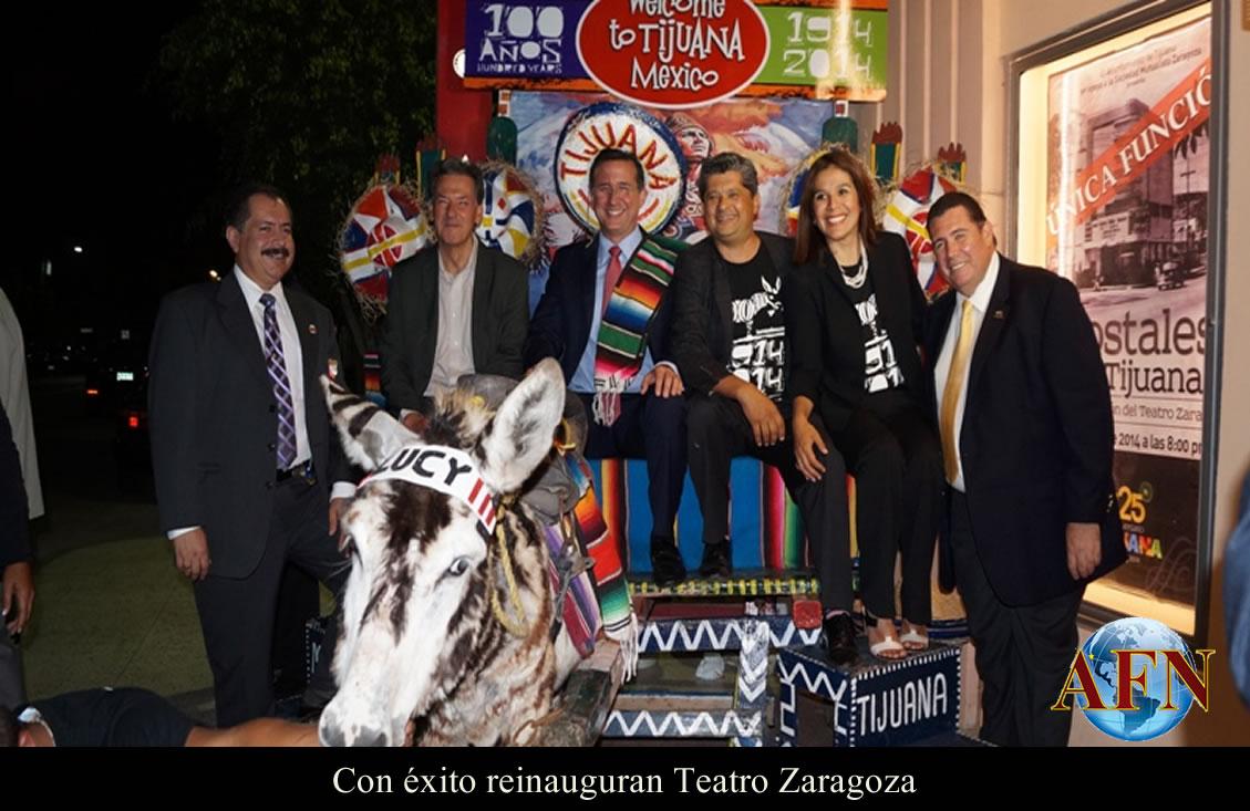 Con éxito reinauguran Teatro Zaragoza