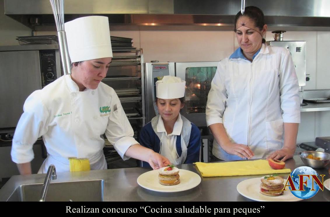 Realizan concurso cocina saludable para peques for Cocina saludable