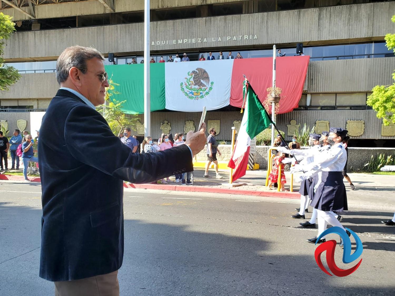 Secretario de Seguridad coordina el desfile del 16 de septiembre