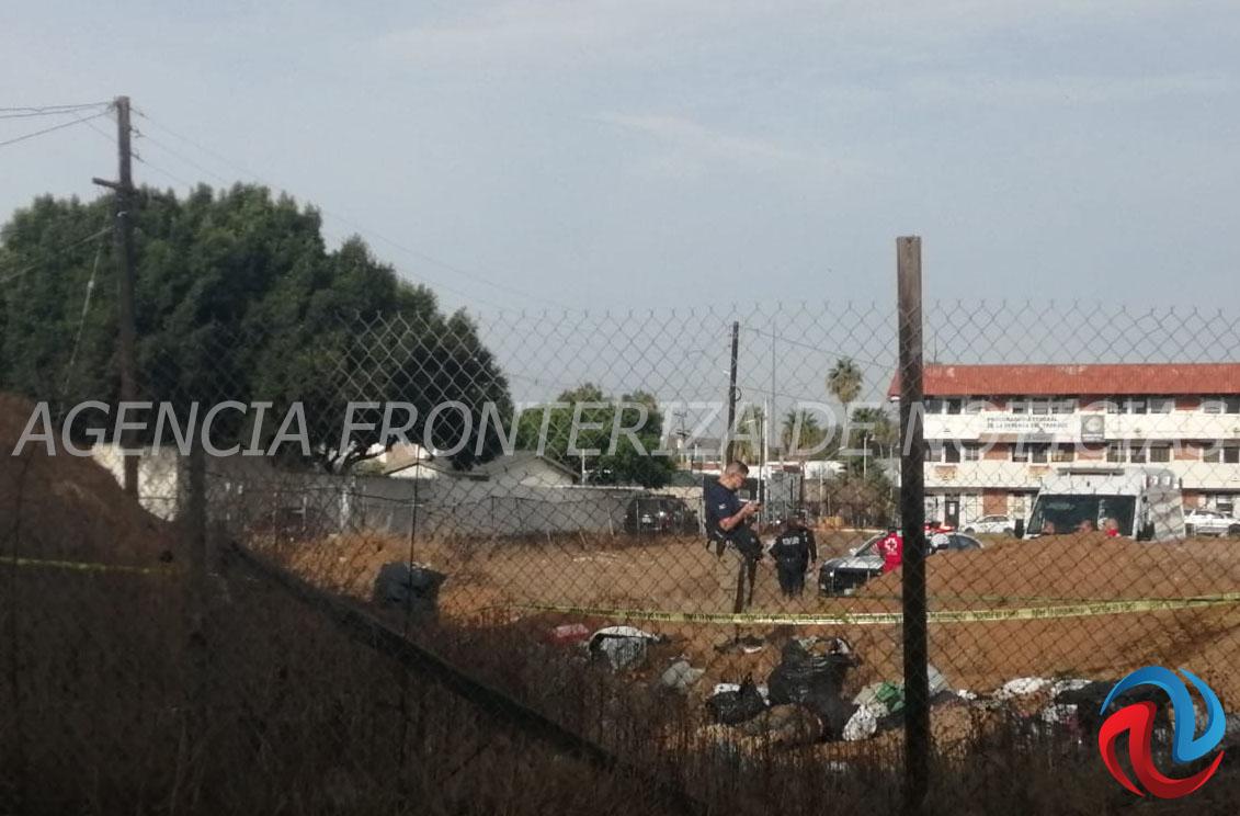 Hallan cuerpo con visibles huellas de violencia, en Ensenada