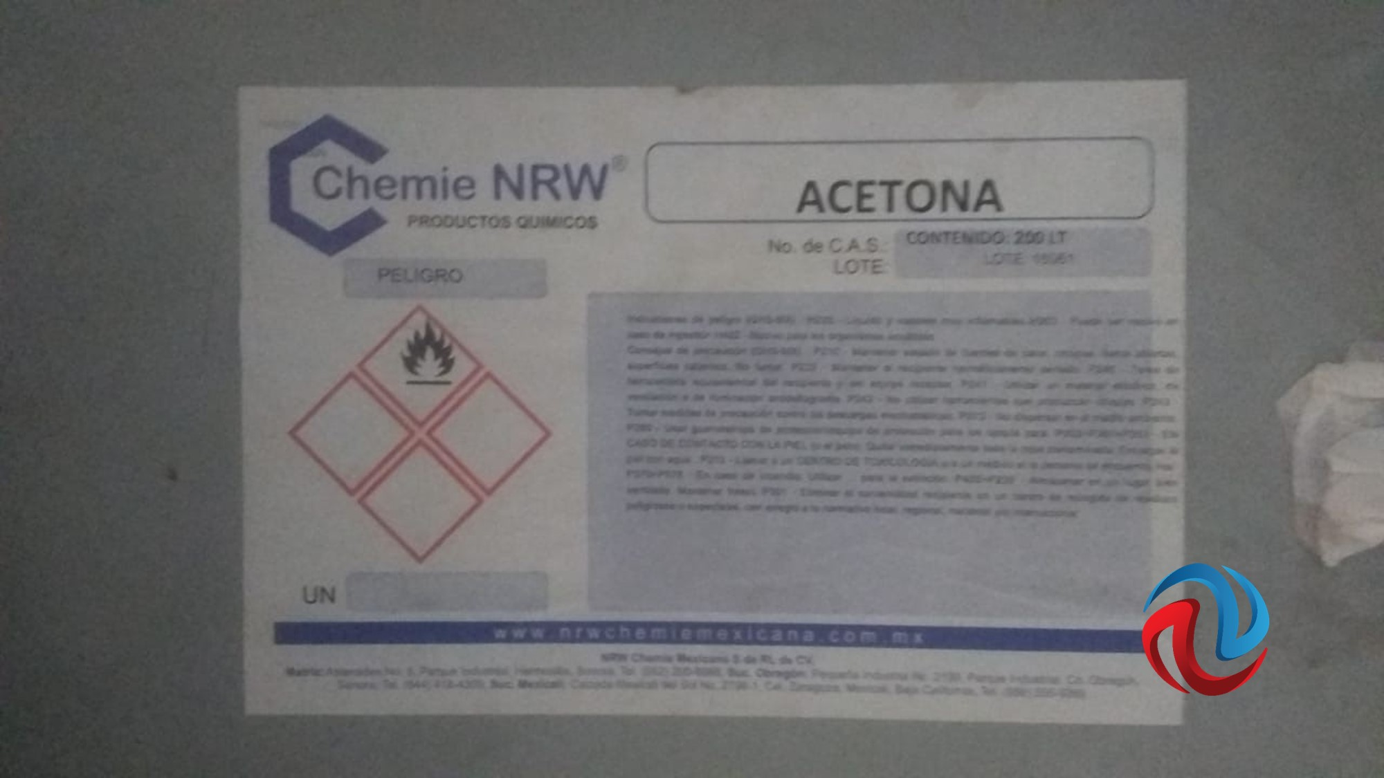 Decomisan químicos y vehículos del Cártel de Sinaloa, en Ensenada