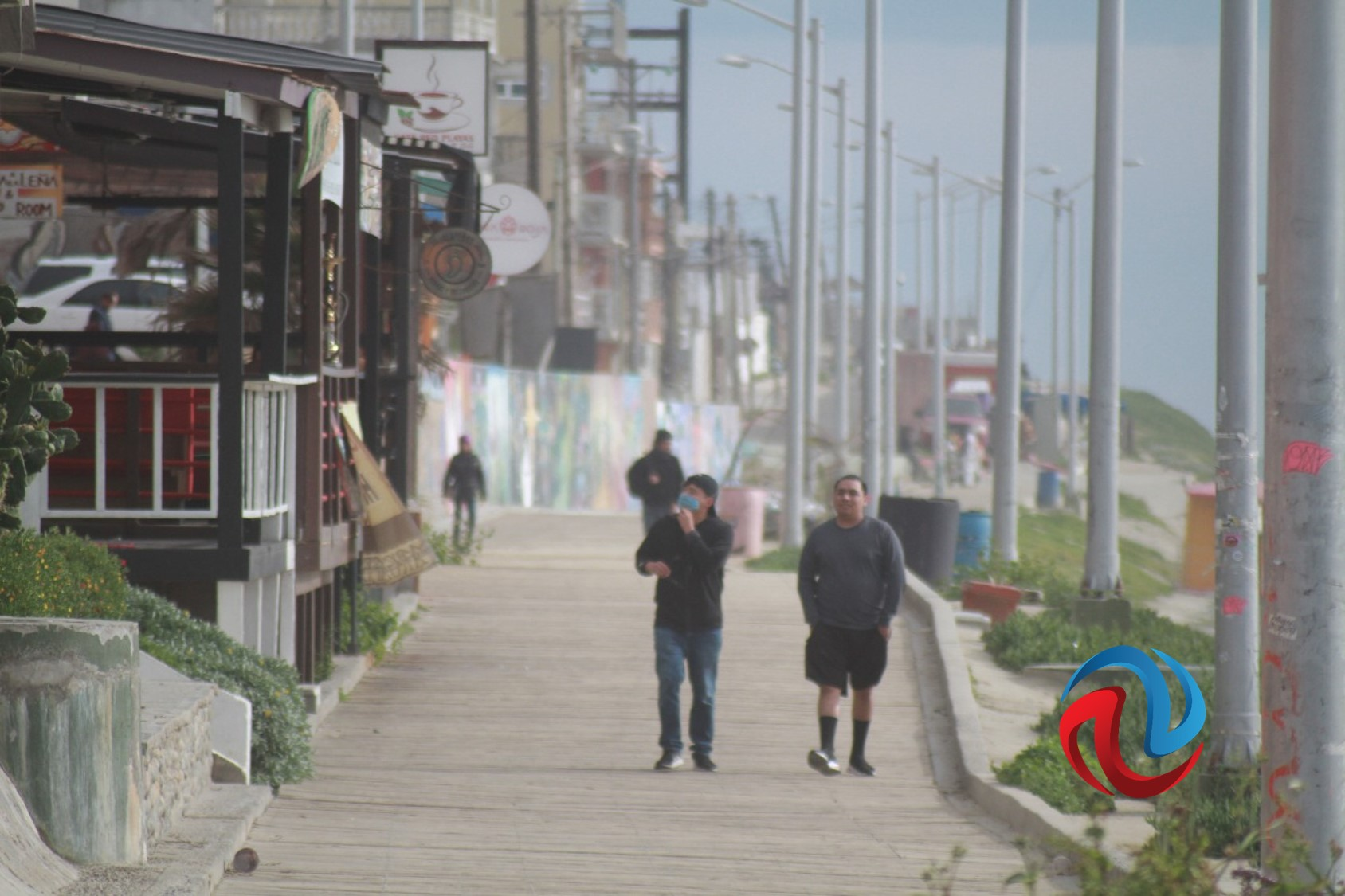 Tijuanenses desalojan playas