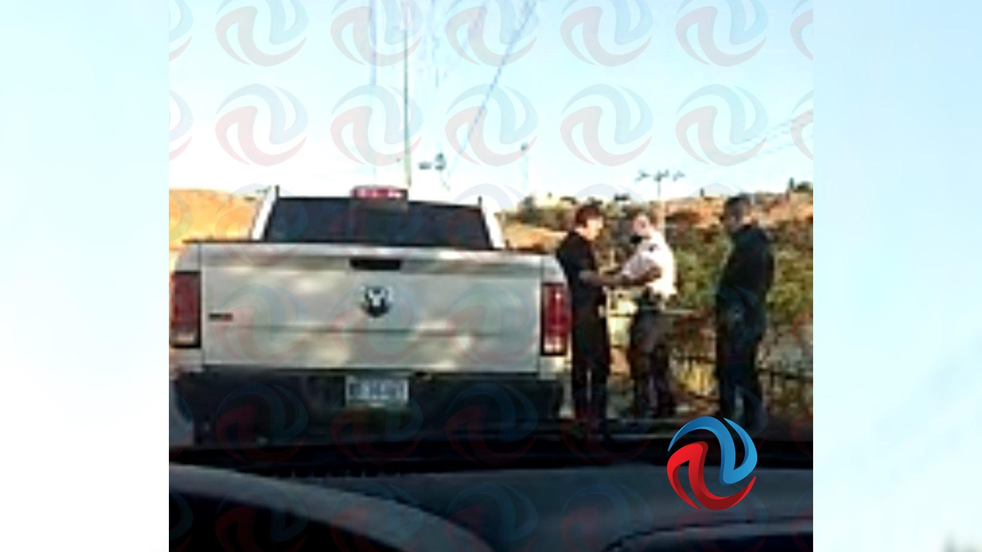 Detención de González Arenas, queda en choque