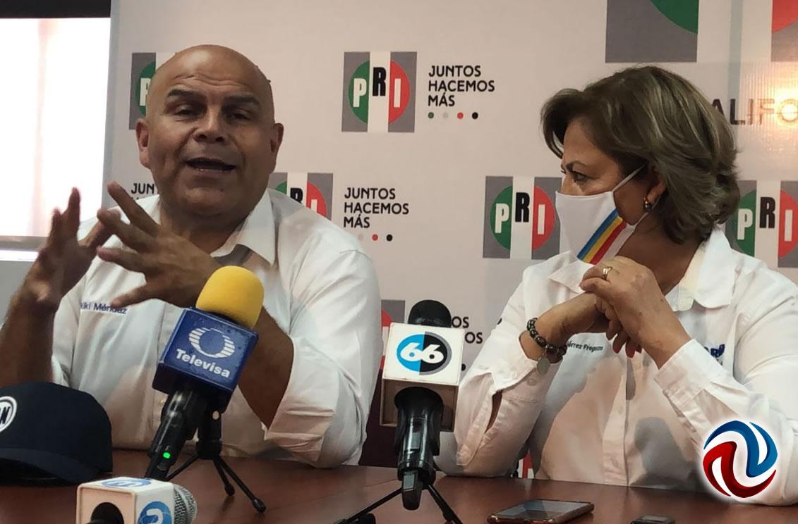 PRI se suma a candidatura de Hank por gubernatura de Baja California