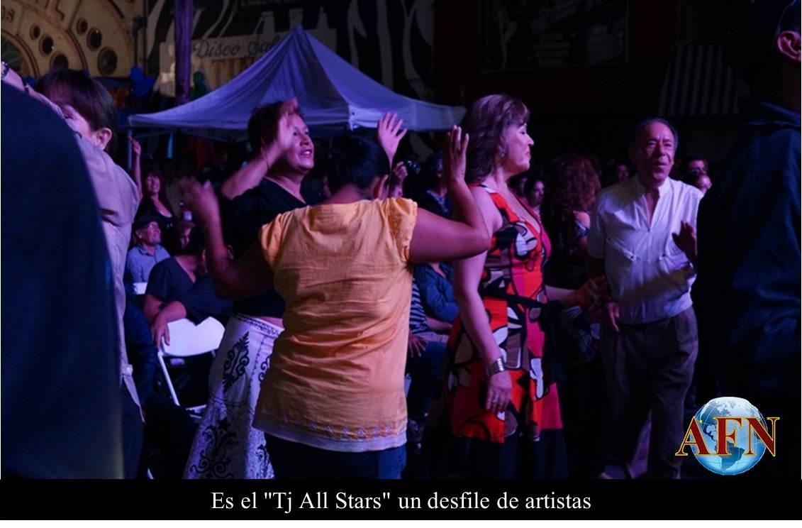 Es el Tj All Stars un desfile de artistas