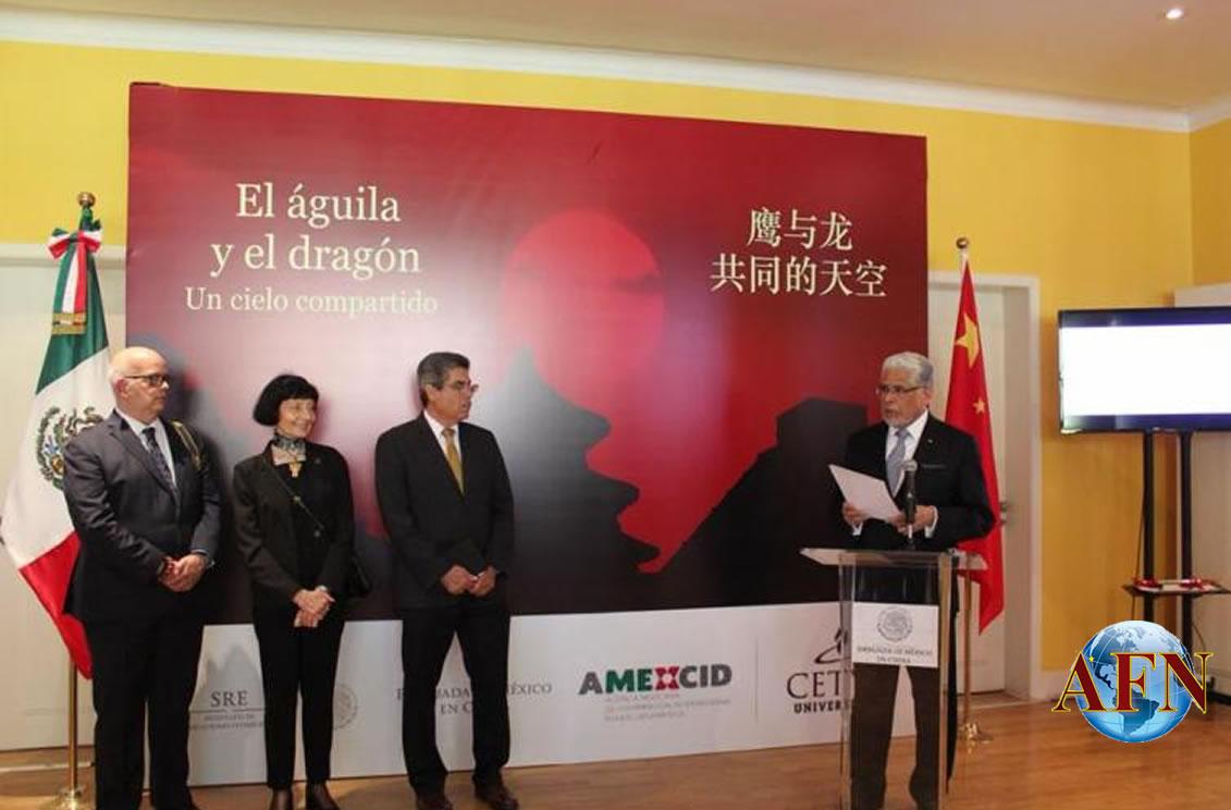 Exponen en embajada de Beijing