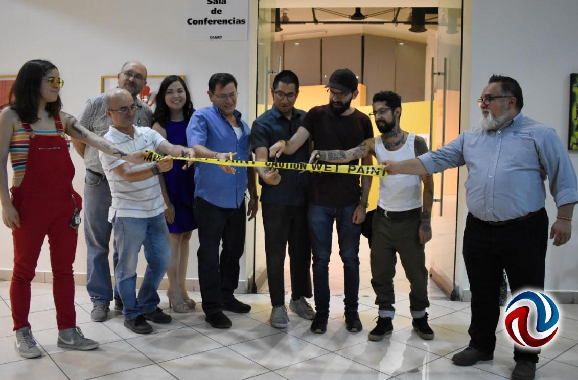 Inauguran exposición Fernando Romo