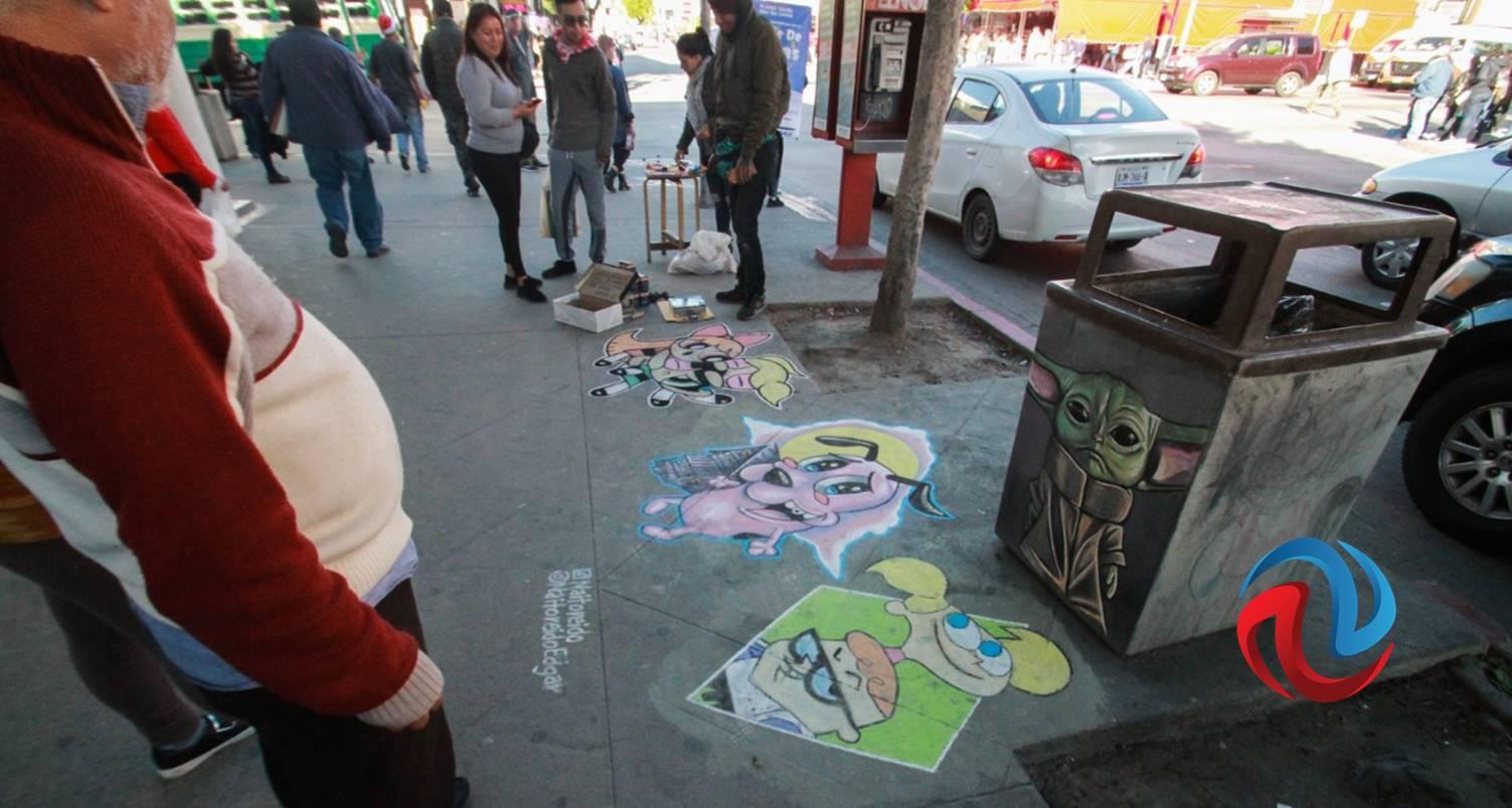 Edgar puede ahora expresar su arte en las calles