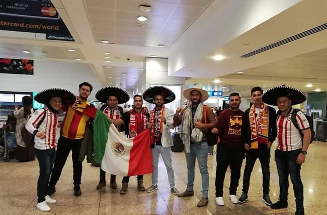 Conexión mexicana con fanáticos de Túnez