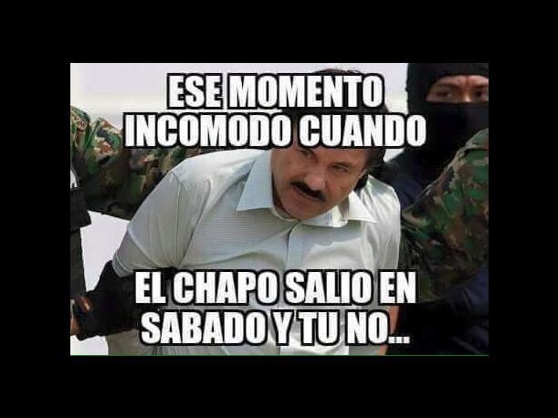Fuga del Chapo desata memes en las redes