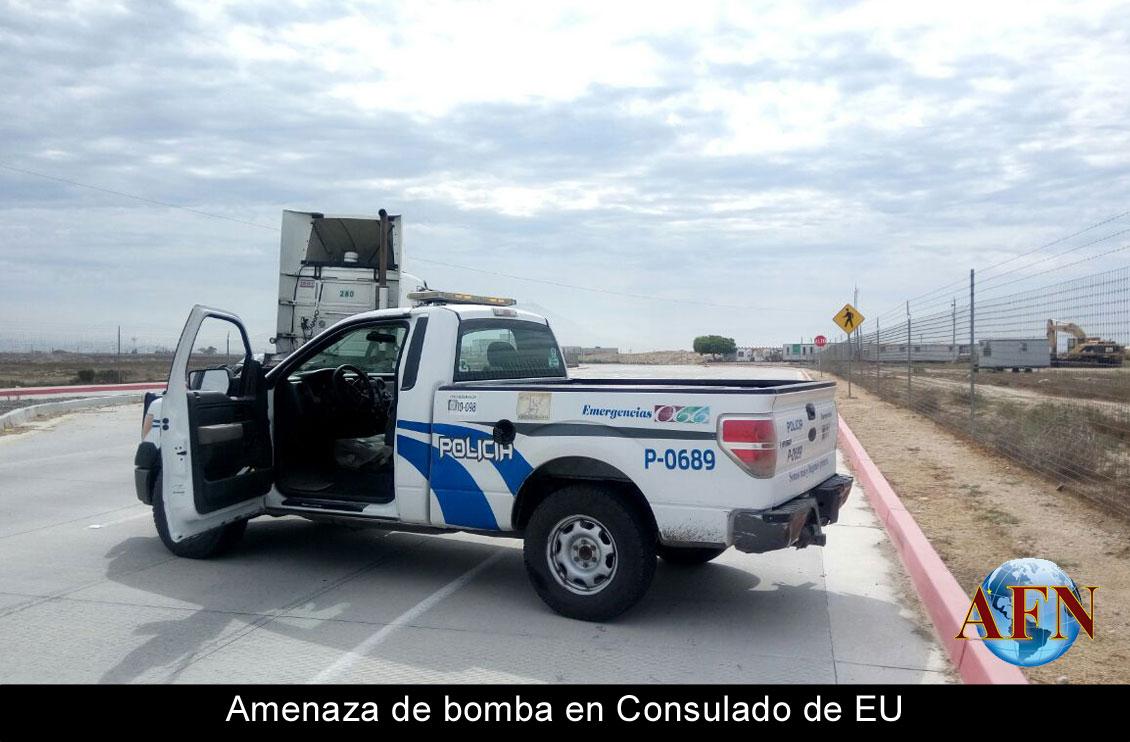 Amenaza de bomba en Consulado de EU