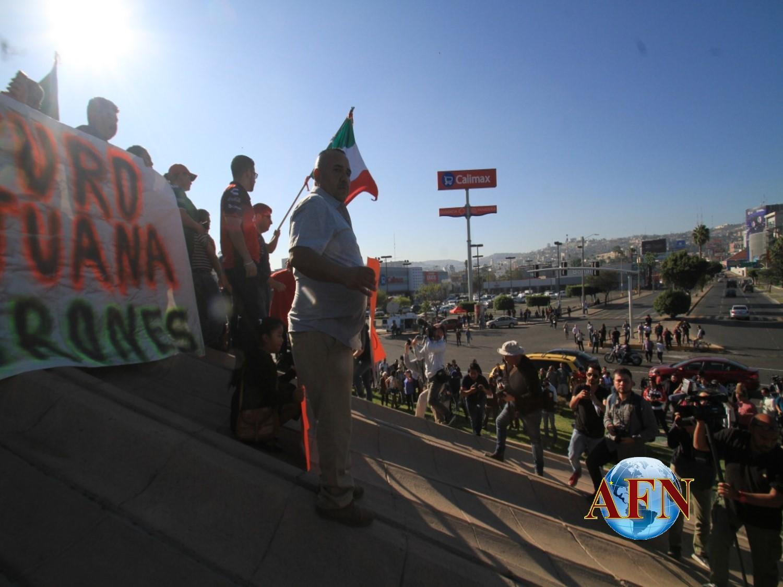 La otra invasión en Tijuana