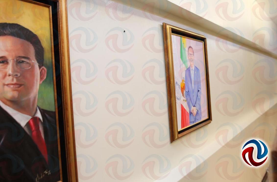 Retiran el cuadro del Patas de la Sala de Presidentes