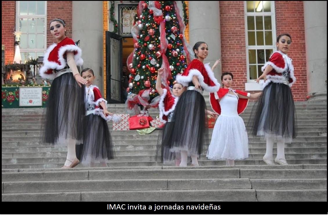 IMAC invita a jornadas navideñas