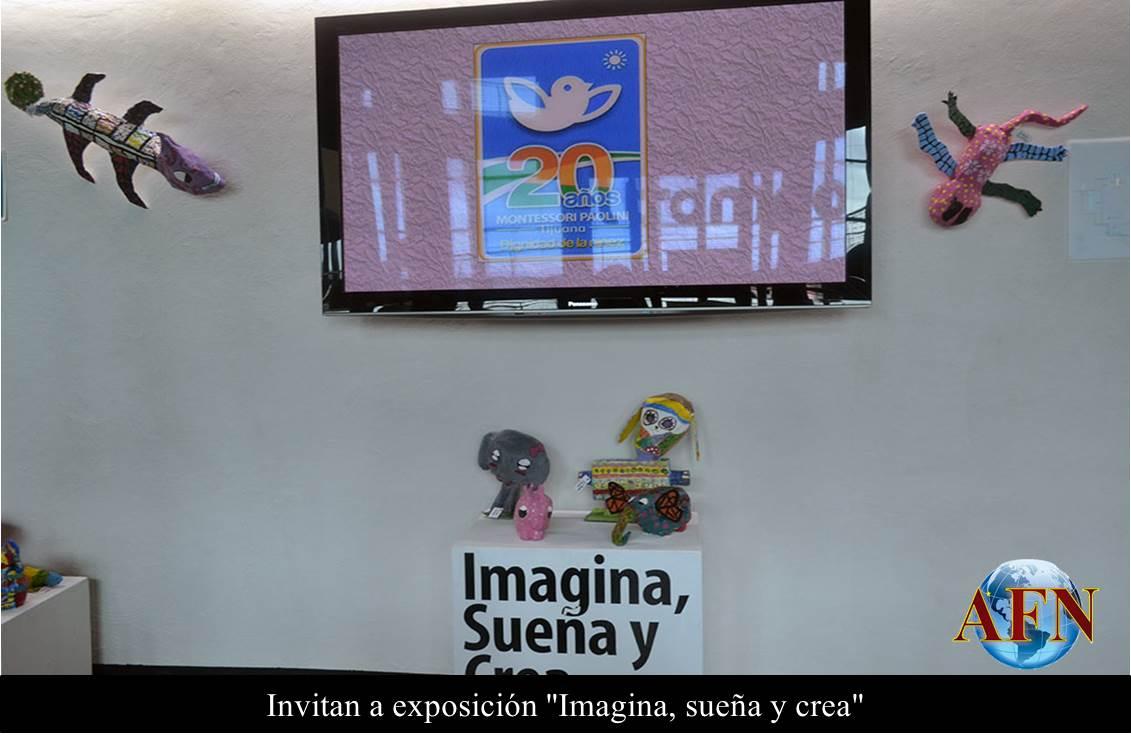 Invitan a exposición Imagina, sueña y crea