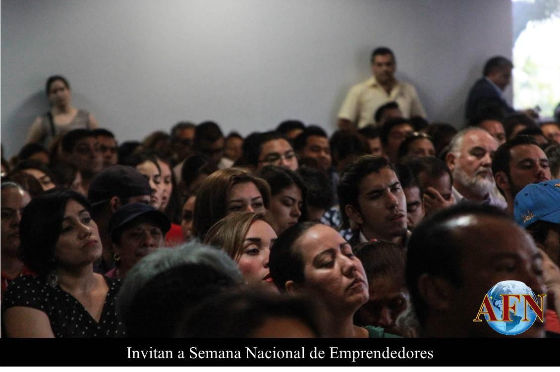 Invitan a Semana Nacional de Emprendedores
