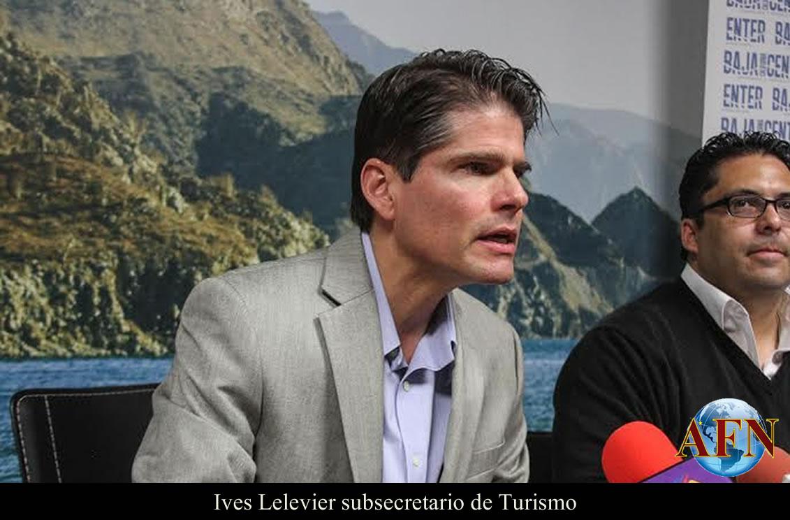 Resultado de imagen para El subsecretario de Turismo, Ives Lelevier Ramos, de BC