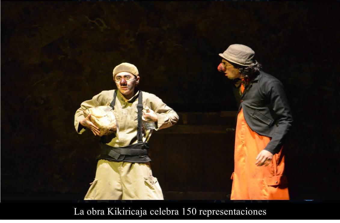 La obra Kikiricaja celebra 150 representaciones