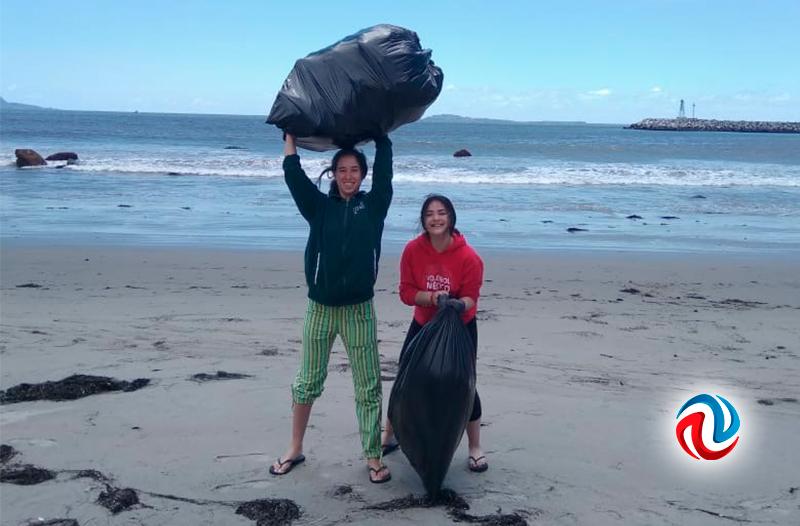 Hacen limpieza de Costas diversas organizaciones en Ensenada