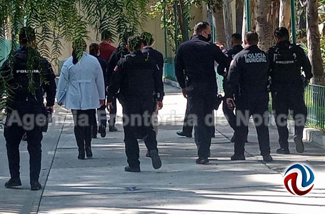 Establecen logística de vacunación en Preparatoria Lázaro Cárdenas