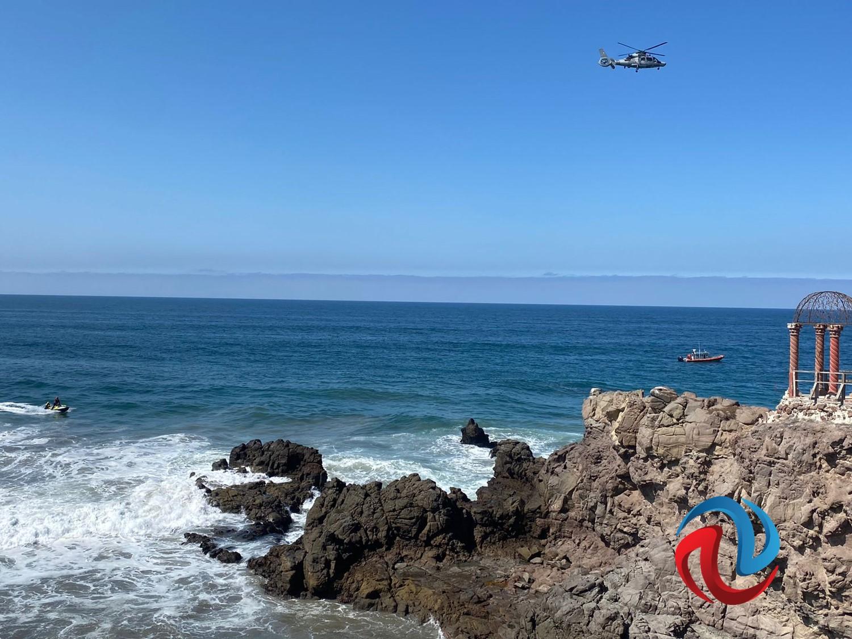 Continúa la búsqueda de un menor en Playas de Rosarito
