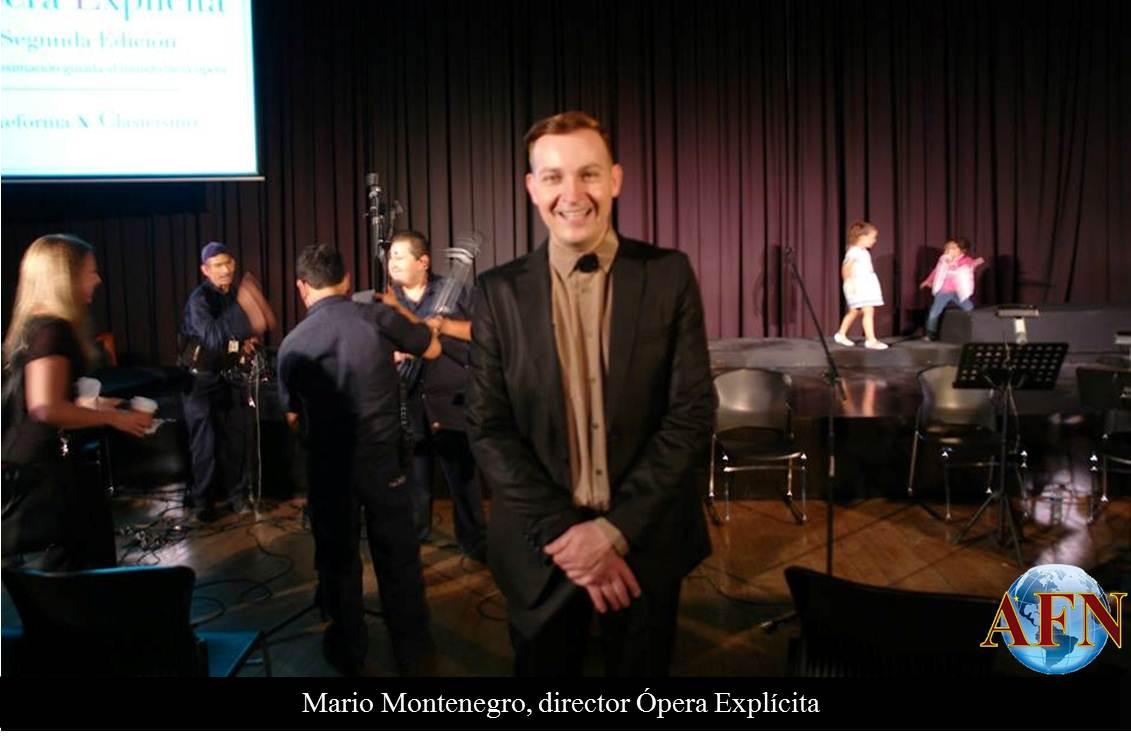 Cierra segunda edición de Ópera Explícita