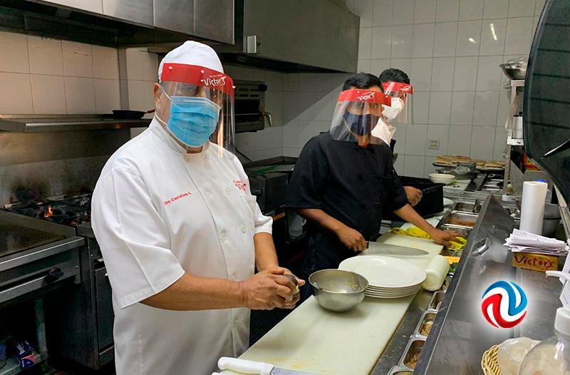 Revisan restaurantes para reapertura